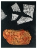 Soektog / Spiritual journey     1998     25x19cm     etching, chine collé     ed.20