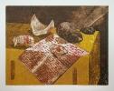 Vanitas |  Kultuuroffers   |  1987  | 42x54cm  |  colour etching  |  ed.25