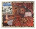 Vanitas Lofsang  Song of praise | 1988 | 1000 x 1500cm| Pastel  | Rupert Art Foundation, Stellenbosch, RSA