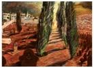 Good Friday in Graaff-Reinet | 1990  | 550 x 850cm pastel | Rupert Art Foundation, Stellenbosch, RSA