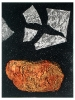 Soektog / Spiritual journey  |  1998  |  25x19cm  |  etching, chine collé  |  ed.20